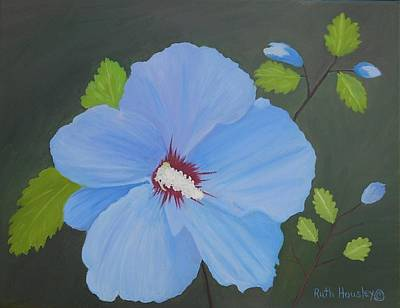 Rose Of Sharon Painting - The Rose Of Sharon by Ruth  Housley