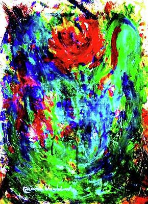 Painting - The Rose by Wanvisa Klawklean