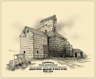 The Ross Elevator Version 2 Art Print