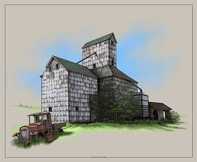 The Ross Elevator Version 5 Art Print