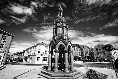 The Rossmore Monument In The Diamond Monaghan Town County Monaghan Republic Of Ireland Art Print by Joe Fox