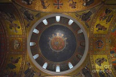The Rotunda-st Louis Basillica Art Print by Terri LeSaint-Keller