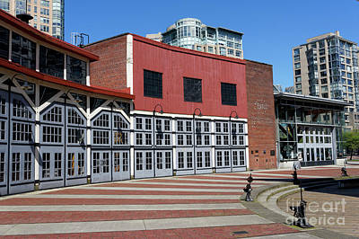 Photograph - The Roundhouse In Vancouver by John  Mitchell