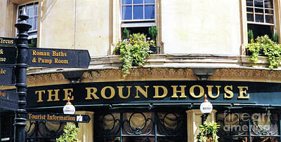 Photograph - The Roundhouse Pub Bath England by John S