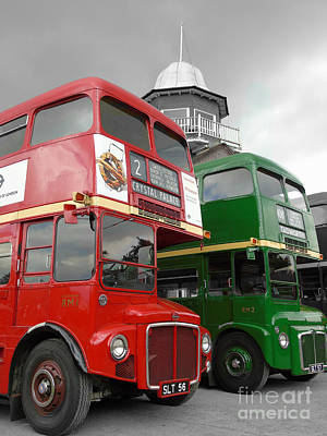New Years Ever Photograph - The Routemaster's by Timothy Morgan
