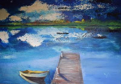 Painting - The Rowboat by Gary Smith