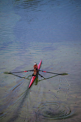 Photograph - The Rower by Karol Livote