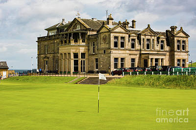 Photograph - The Royal And Ancient Golf Club Of St Andrews by MaryJane Armstrong