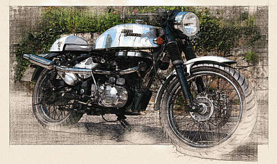 The Royal Enfield Original by Don Kuing