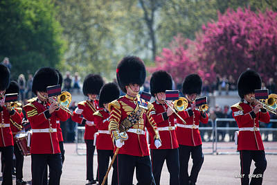 Photograph - The Royal March by Walt  Baker
