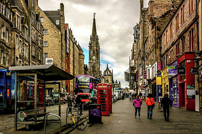 Photograph - The Royal Mile by Andrew Matwijec