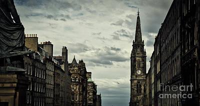 Photograph - The Royal Mile, Edinburgh by Bruce Block