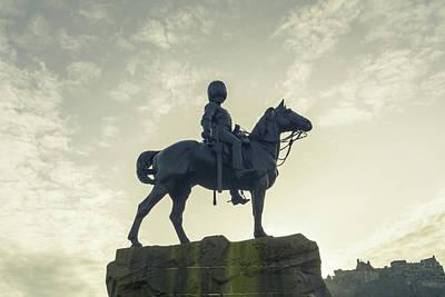Photograph - The Royal Scots Greys Monument by Jacek Wojnarowski