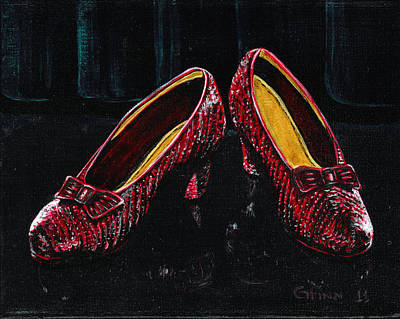 Painting - The Ruby's by Gail Finn