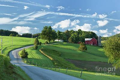 The Rudy Farm Art Print