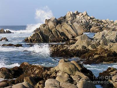 Photograph - The Rugged Shore Of Pacific Grove by James B Toy