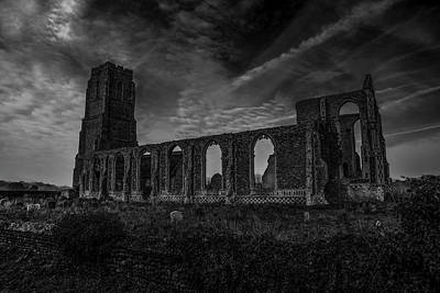Greenman Photograph - The Ruinous Nave Of St Andrews At Covehythe by Lee Thornberry