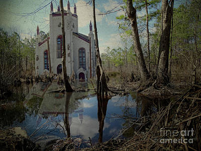 Photograph - The Ruins by Melissa Messick
