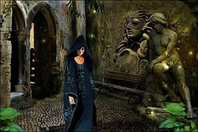 The Ruins Of Masks  Original by Daniel Arrhakis
