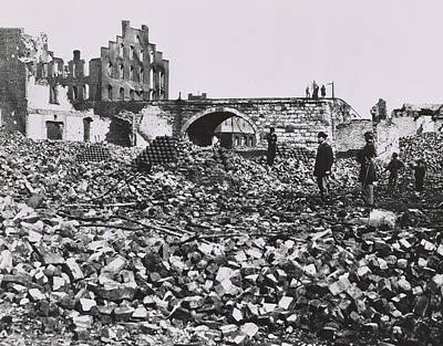 Joseph Photograph - The Ruins Of Richmond, Virginia, 1865  by Andrew Joseph Russell