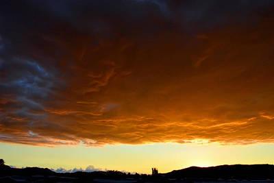 Photograph - The Rumbling Sky by Glenn McCarthy Art