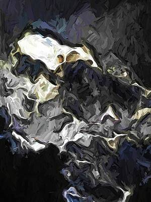 Digital Art - The Rumbling Storm Of Turmoil by Jackie VanO