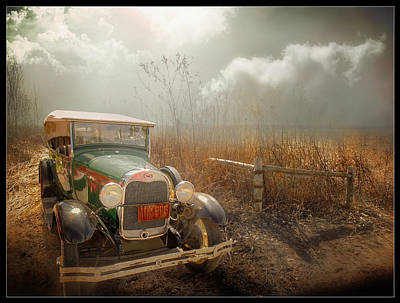 The Rural Route Art Print by John Anderson