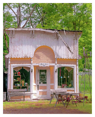 Photograph - The Rural Store by Trey Foerster