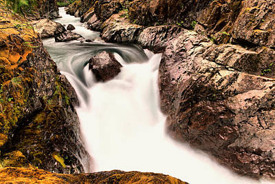 Photograph - The Rush Of Water And The Cool Wet Wind by Jeff Swan