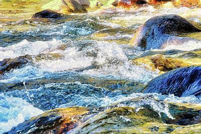 Photograph - The Rushing King's River In The Sierras by Kirsten Giving