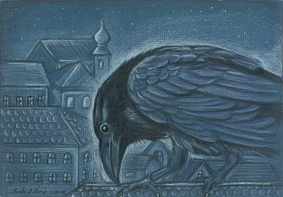 The Russian Raven Art Print
