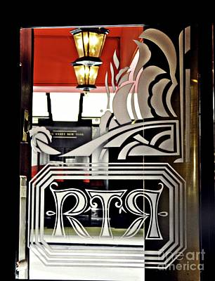 Photograph - The Russian Tea Room Door by Sarah Loft