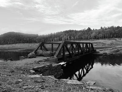 The Rusted Bridge Art Print by Eric Radclyffe