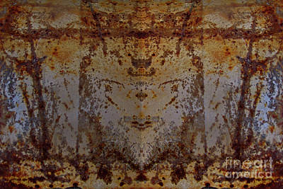 Photograph - The Rusted Feline by Kelly Holm