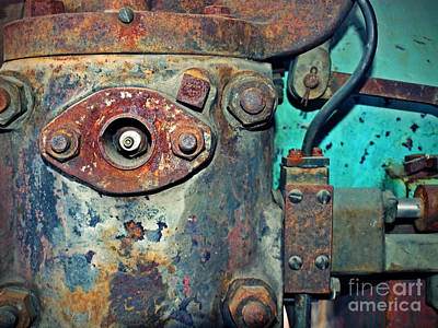 Photograph - The Rusted Parts by Tara Turner