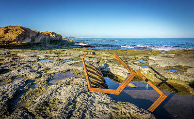 Photograph - The Rusty Steps by Gary Gillette