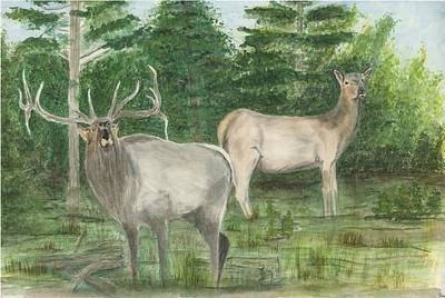 Painting - The Rut by Sara Stevenson