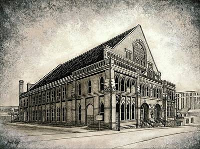 The Ryman Art Print by Janet King