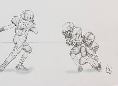 Drawing - The Sack by Chris Thomas