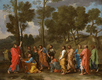 Giving Painting - The Sacrament Of Ordination by Nicolas Poussin