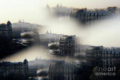Sacre Coeur Photograph - The Sacre-coeur Basilica On Montmartre Hill by Sami Sarkis