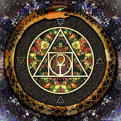 The Sacred Alchemy Of Life Art Print