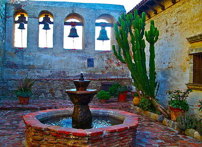 Photograph - The Sacred Garden Of Mission San Juan Capistrano California by Karon Melillo DeVega