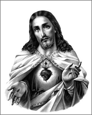 The Sacred Heart, I Original by The Wizard X