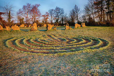 Neolithic Photograph - The Sacred Way by Tim Gainey