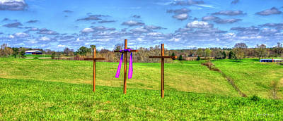 Photograph - The Sacrifice Jesus Christ Remembered Christian Art by Reid Callaway