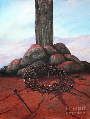 Painting - The Sacrifice Of His Love by Michael Nowak