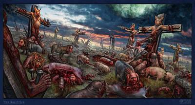Tonykoehl Wall Art - Digital Art - The Sacrifice by Tony Koehl