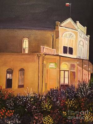 Painting - The Saddle Shop General Store by Cheryl Damschen