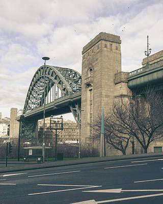 Photograph - The Sage A, Gateshead And Tyne Bridge by Jacek Wojnarowski